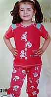 Пижама для девочки №85152 (капри)