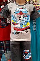 Пижама для мальчика №89069 (бриджи)