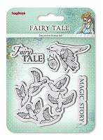 Набор штампов Fairy Tale ТМ ScrapBerry's 10,5*10,5 см. 1 шт