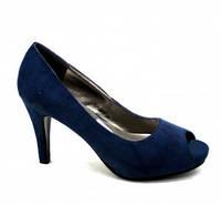 Замшевые летние женские туфли