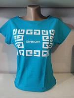 """Стильная женская футболка  """"Givenchy"""""""