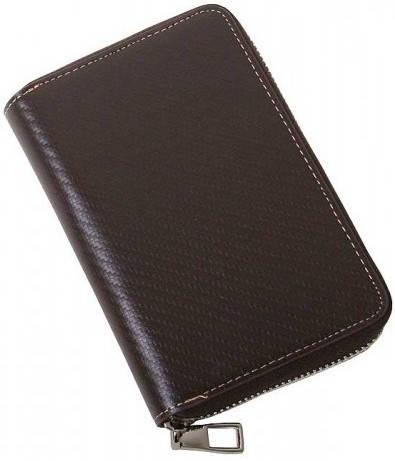 Стильное универсальное портмане Vip Collection 415B TC коричневый