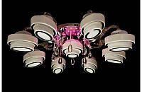 Потолочная люстра с Led подсветкой,пультом Ls9503-8+1