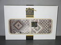 Покрывало гобеленовое 240*240 в подарочной упаковке Турция