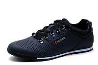Туфли мужские Columbia, спортивные, темно-синие, кожа, р. 41 43, фото 1