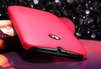 Чехол Nillkin для Motorola Moto E (XT1021 / XT1022) красный (+пленка)