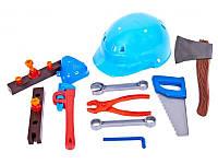 Набор инструментов Юный Плотник с каской 32-003