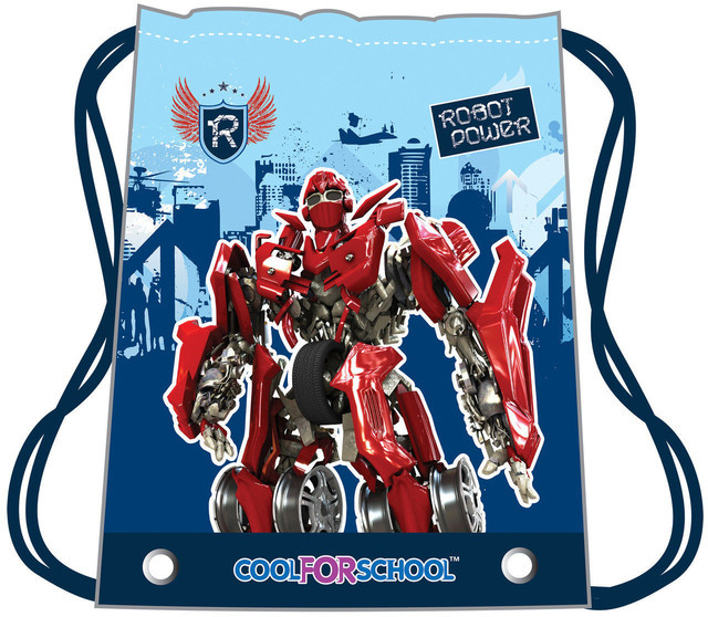 "Сумка для обуви Cool for School ""Robot power"" CF85425 COOL FOR SCHOOL"