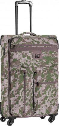 Интересный дорожный 4-х колесный чемодан 54 л CAT (Caterpillar) Cube 83270;237 камуфляж