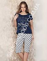 Домашний костюм Mel Bee (Sahinler) 22720 футболка и капри (бриджи)