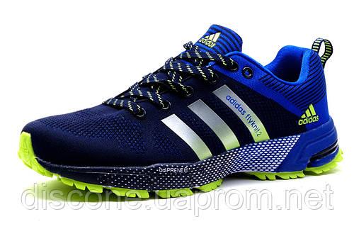 Кроссовки мужские Adidas Flyknit2, синие