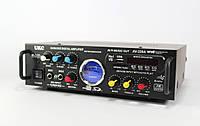 Усилитель звука UKC AMP AK 339 + караоке на 2 микрофона