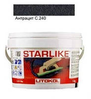 Эпоксидная затирка Litokol Starlike C.240 (антрацит), 1 кг