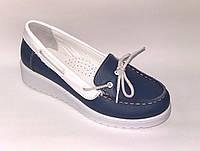 Туфли для девочек на танкетке, р. 32,34,35