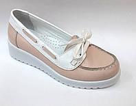 Туфли для девочек на танкетке, р. 31,32,33,34,35,36