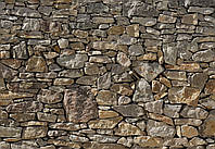 "Фотообои Komar ""Каменная стена"" Stone Wall 8-727"