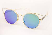 Солнцезащитные очки в металлической оправе, фото 1