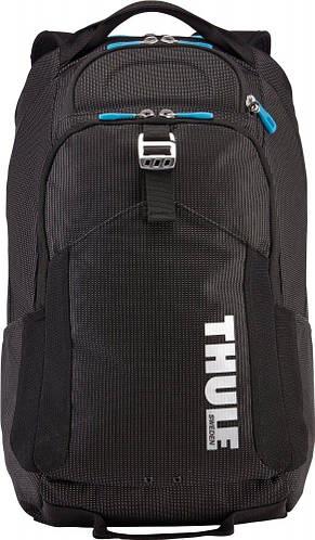 """Городской рюкзак с отделением для ноутбука 17"""" на 32 л. THULE CROSSOVER BLACK 6153619, черный"""