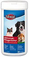 Trixie (Трикси) Универсальные Косметические Салфетки для собак кошек грызунов