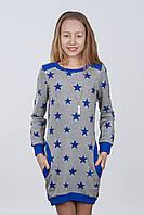 Нарядное платье - туника для девочек подростков