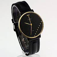 Часы Заря черный циферблат