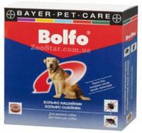 BOLFO - ошейник от блох и клещей для собак, 65 см.Bayer