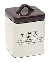 """Банка керамическая для чая """"TEA"""",  450 мл"""