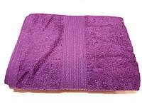 Полотенце махровое 50х100 цвет пурпурный, Туркменистан