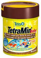 Основной корм для мальков аквариумных рыб Tetra Min Baby, 66 мл