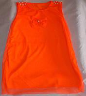Туника - платье на девочку 1 - 5 лет
