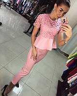 Элегантный костюм Chanel блуза+брюки