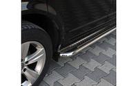 Боковые площадки Premium Ø50 (2 шт., нерж.)- Renault Dokker 2013+
