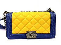 Женская сумка клатч Chanel Boy (Шанель Бой) 82  стеганая
