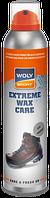 Бесцветная аэрозоль для всех видов гладкой и шагрен WOLY SPORT Extreme Wax Care 250ml