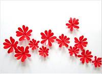 Цветы красные (маленькие)