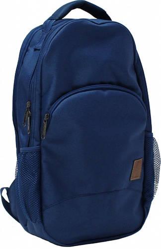 Стильный мужской городской рюкзак 20 л Bagland 534662-2 синий