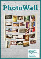 PhotoWall ФотоСтена деревянная для 40 фотографий