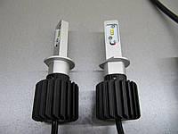 Светодиодная автомобильная лампа Н1 G7  седьмого поколения  - с пассивным радиатором.