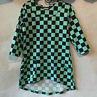 Туника для девочки с карманами 128-152см