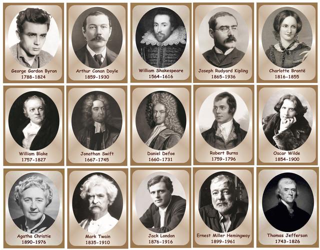 Кто был первый литературный автор