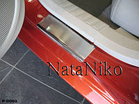 Накладки на пороги Premium Dodge Caliber 2006-