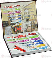 Набор металлических ножей покрытых керамикой Dross TW3470