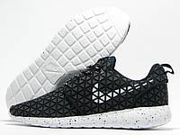 Кроссовки мужские Nike Roshe Run Metric QS темно-синие (найк роше ран метрик)