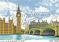 Барвиста Вишиванка ТМ-018 Большое сердце Британии, схема для вышивания бисером