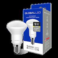 Лампа светодиодная R50 5W 3000K 220V E14 Global (1-GBL-153)