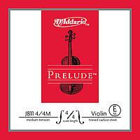 Струны D`ADDARIO J811 4/4M Prelude E 4/4M