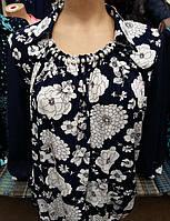Легкая блуза модного кроя