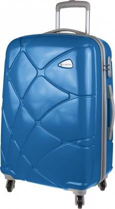 Вместительный дорожный 4-х колесный чемодан 71 л CARLTON Reef 241J469;58 синий
