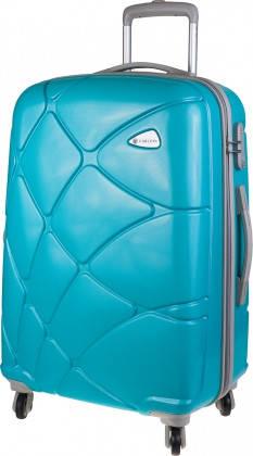 Шикарный дорожный 4-х колесный чемодан 71 л CARLTON Reef 241J469;91 бирюзовый
