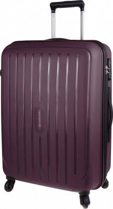Практичный дорожный 4-х колесный чемодан 40 л CARLTON Phoenix 239J455;27 темно-фиолетовый